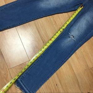Levi's Jeans - Levi's 721 High Rise Skinny Jeans Raw Hem Size 30